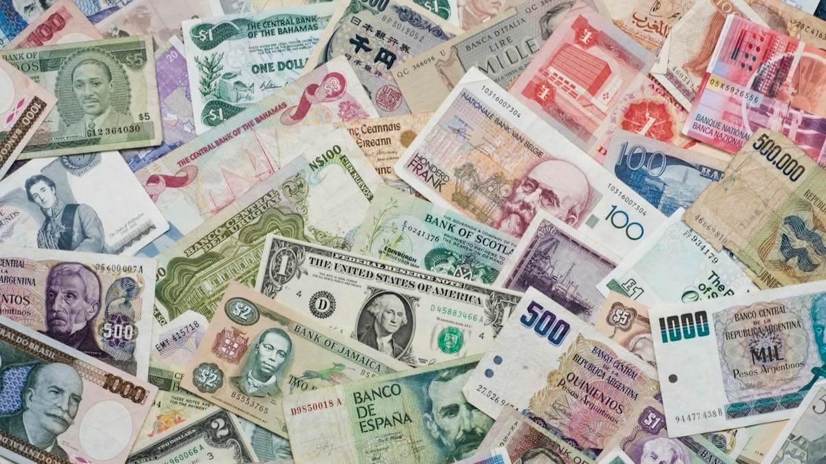 деньги всего мира