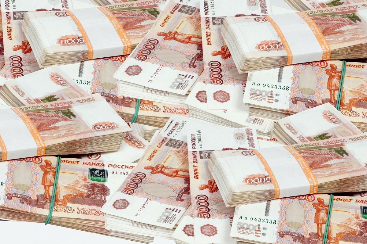 сколько весит миллион рублей