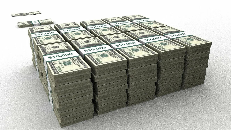 как выглядит миллион долларов