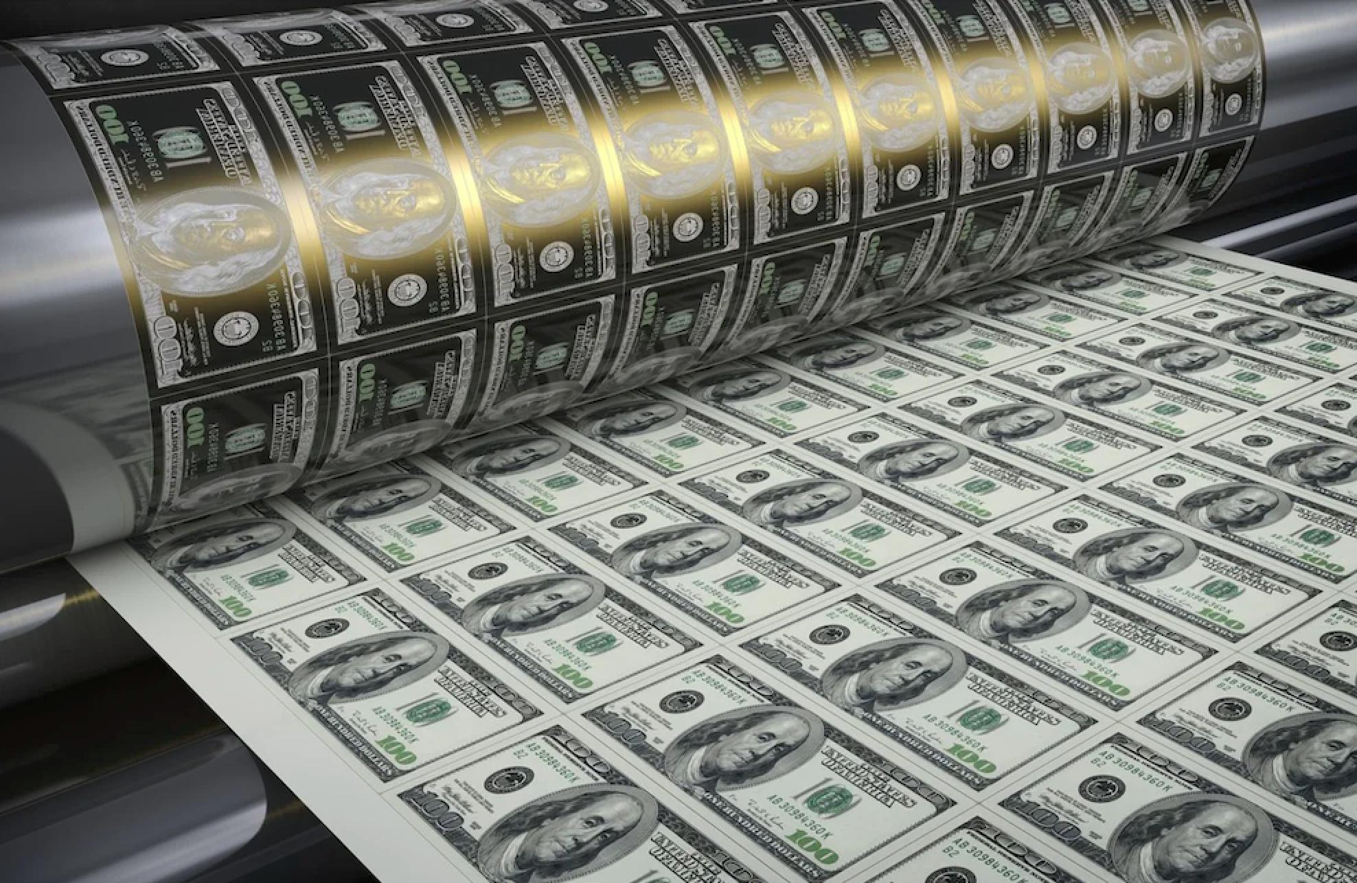 вид доллара
