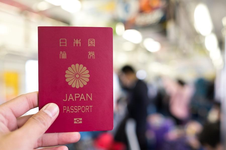 паспорт японии
