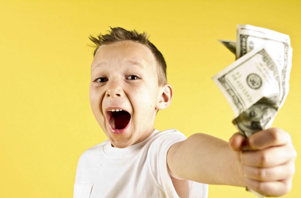 14-летнему парню заработать денег